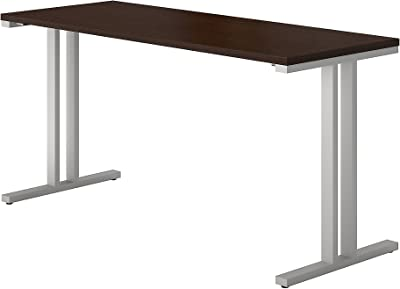 Bush Business Furniture 400 Series 60W x 24D Training Table in Mocha Cherry