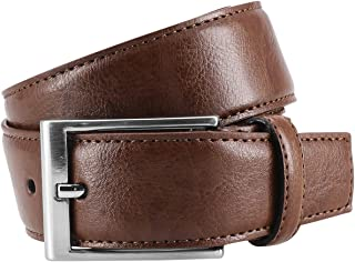 Lindenmann/ color marr/ón co/ñac cintur/ón de cuero XL curvado /Cuero cintur/ón//hombre cintur/ón