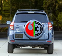 Star Wars logo Sticker Full Color Spare Tire Cover Decal, Sticker Wheel Cover gc1485