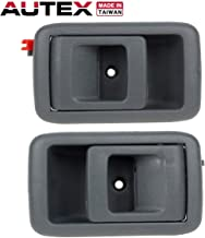 AUTEX Door Handles 2pcs Gray Interior Inside Inner Front/Rear Left Right Side Door Handles Compatible with Toyota Tercel 1995-1999,Toyota 4Runner 96-02,Toyota Camry 87-91,Toyota Tacoma 01-04 9597180