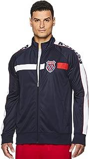 Men's Full Zip Up Track Jacket - Long Sleeve Running & Warmup Top
