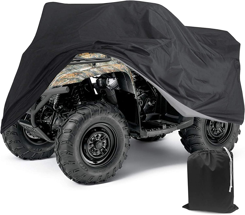 Tokept 190T Black Quad Bike ATV Rain Our shop most popular Phoenix Mall ( Cover Waterproof ATC