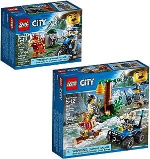 LEGO City Police City Police Bundle Building Kit (125 Pieces)
