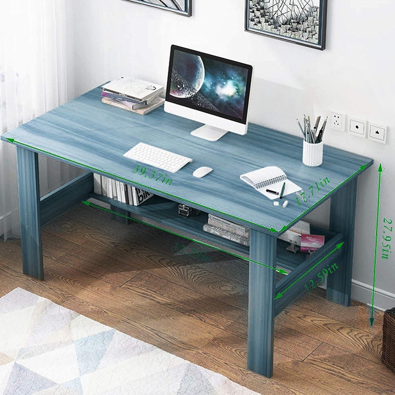 海外 OKBOP Home Office Computer Desk Writing Black Cheap Small 海外並行輸入正規品 40''