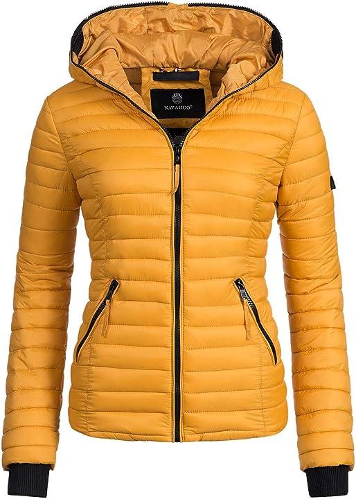 Navahoo giacca trapuntata mezza stagione da donna kimuk xs-xxl Kimuk-205