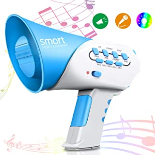 Vimpro Voice Changer, Kids Multi Voice Changer with 7 Different Voice Modifiers, for Boys and Girls, Parties, Christmas, Events-Blue