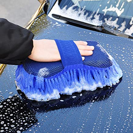 SHOPPOSTREET Multipurpose Car Wash Sponge and Dry Cleaning Sponge, High Performance Cleaning Sponge, Sponge For Washing Car Window Home Cleaning Tool (Multi Color) – Pack Of 1