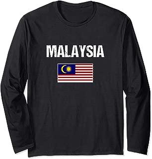 Malaysian Pride Heritage   Malaysia Flag Long Sleeve T-Shirt