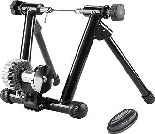 Sfeomi Rodillo para Bicicletas Rodillo de Entrenamiento con Resistencia Fluida 150kg Rodillo Plegable de Fluido para Bicis de 26-29 Pulgadas Soporte de Bicicleta para Ejercicio en Casa