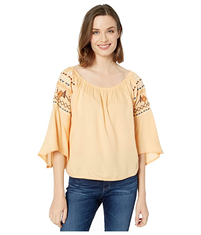 Ariat  Rachel Top (Apricot Rays) Womens Clothing