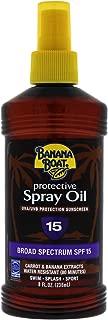 banana boat 15 oil