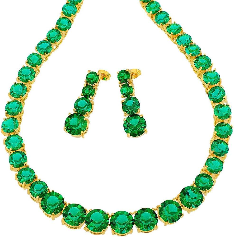 RIZILIA Jewelry Set with 19