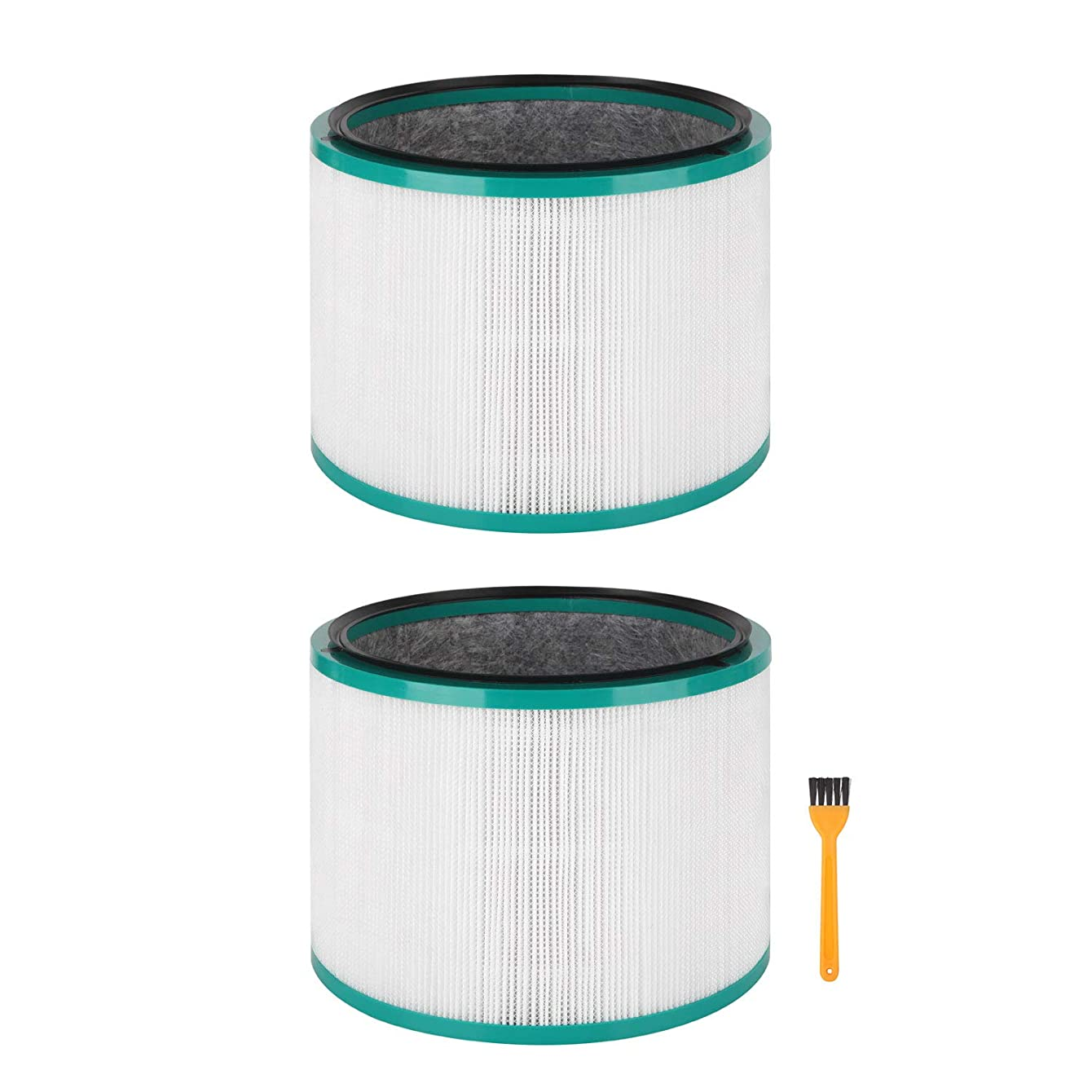 Colorfullife 2 Pack Replacement HEPA Filter for Dyson Desk Purifier for Dyson Pure Cool Link Desk, for Dyson Pure Hot + Cool Link, Replaces Part # 968125-03