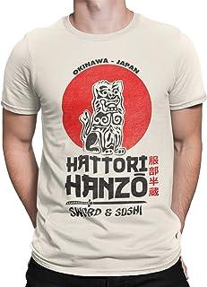 Camisetas La Colmena 2242-Hattori Hanzo (Melonseta)