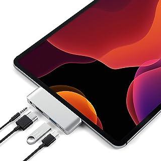 SATECHI Adattatore Pro Hub Portatile Tipo C in Alluminio con Carica USB-C PD, 4K HDMI, USB 3.0 e Jack Cuffie da 3,5 mm - C...