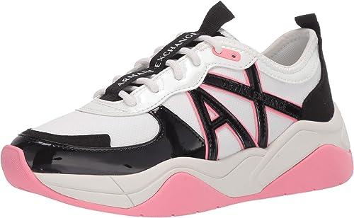 Armani exchange chunky sneakers, scarpe da ginnastica basse donna XDX039XV311