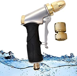 Sponsored Ad – Powerful Hose Pipe Spray Gun Heavy Duty Garden Hose Spray Gun for Watering Lawn,Cars and Pets Hose Nozzle H...