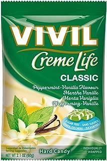 Vivil Crème Life Classic Sugar Free Peppermint & Vanilla Crème 60g