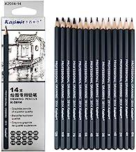 Drawing Pencils 14pcs/set 12B 10B 8B 7B 6B 5B 4B 3B 2B B HB 2H 4H 6H Graphite Sketching Pencils Professional Sketch Pencil...