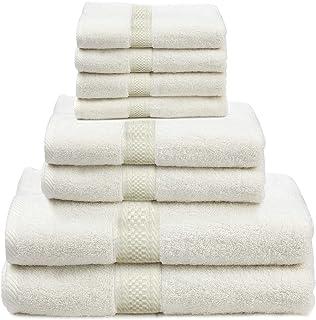 6 Piece Towel Set (Light Grey)