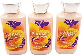 Bath & Body Works Butterfly Flower Body Lotion 8 oz - Lot of 3