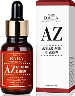 Azelaic Acid 10% Serum 1oz with Niacinamide - Rosacea Skin Care Product + Reduce Cystic Acne Scar + Redness Relief Face + ...