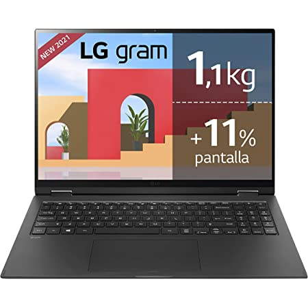 LG gram 16Z90P Windows 10 Home, Ultraligero de 40.6 cm (16 ...