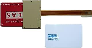 東芝製に対応 mini B-CAS 変換アダプター,KZ-B09 / B0912A 『 これ1枚で2つの機能 MINI B-CAS変換アダプター』,のセット