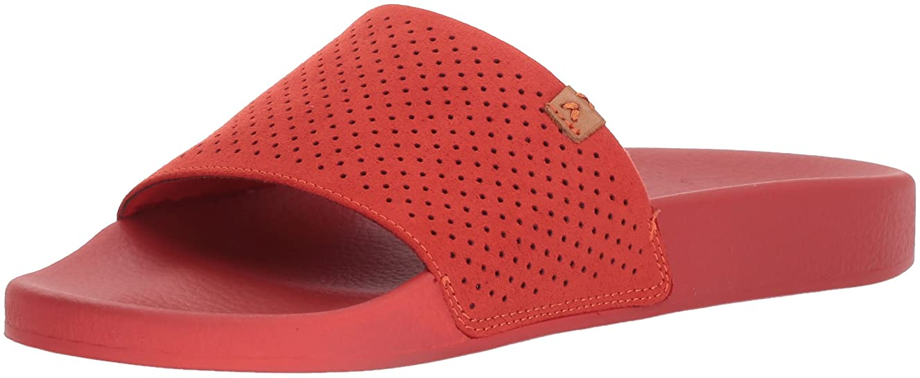 Dr. Scholl's Shoes Women's Palm Slide Sandal, Paprika Micro Perforated, 6 M US