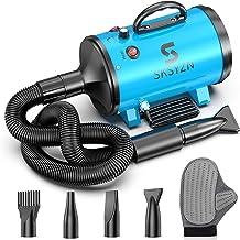 SKSYZN Dog Dryer 3200W/4.3HP Motor Stepless Adjustable Speed Dog Hair Dryer