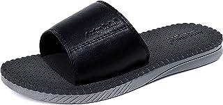 ARRIGO BELLO Mens Flip Flops Non-Slip Casual Canvas Slippers Zwembad Outdoor Indoor Thuis Strand Zomer Vakantie Wandelen S...