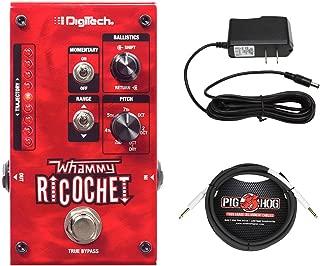 Digitech Whammy Ricochet + 9V Power Supply + 10ft 1/4