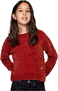 Pepe Jeans- Jersey PG700836 Barbara- 296 Lotus Red- Jersey DE Punto NIÑA