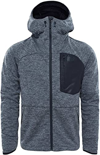The North Face La Veste Thermale WindWall de pour Homme, gris Foncé, XL
