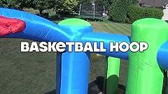 Amazon.com: Pogo Bounce House - Deslizador de agua hinchable ...