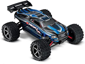 Traxxas E-Revo VXL 1/16-Scale 4WD Racing Monster Truck with TQi 2.4 GHz Radio & TSM, Blue