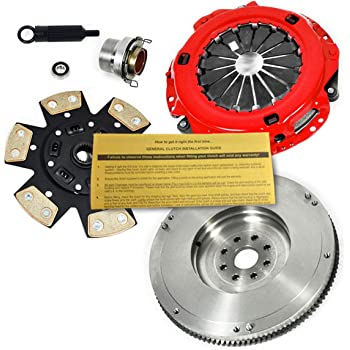 EFT STAGE 2 CLUTCH KIT+HD FLYWHEEL FOR 1989-1995 TOYOTA PICKUP 4RUNNER 2WD 4WD 2.4L