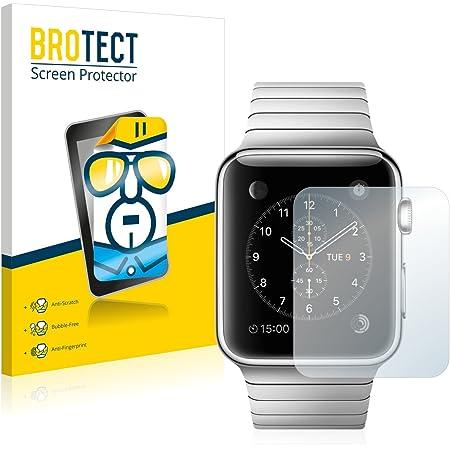 brotect Pellicola Protettiva Compatibile con Apple Watch 2014 (42 mm) Pellicola Trasparente (2 Pezzi) Anti-Impronte