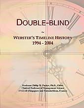 Double-blind: Webster's Timeline History, 1994 - 2004