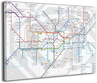 Best london tube map canvas Reviews