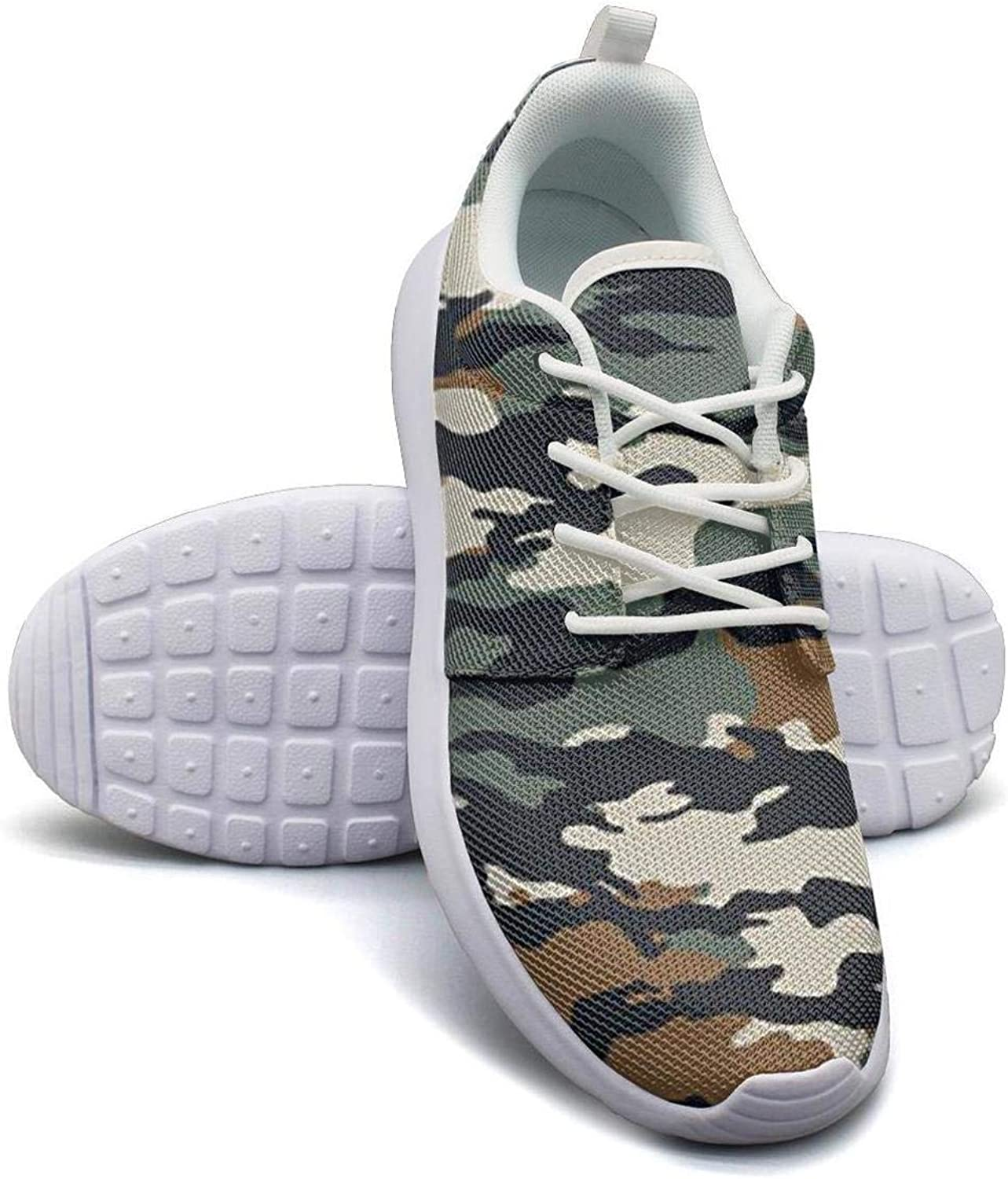 Military Camo Camouflage Sneakers