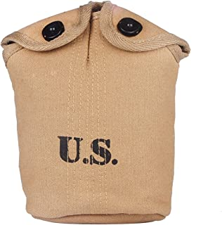 Heerpoint Reproduction Ww2 Wwii Us Army Military M1910 Canteen Cover (Khaki)