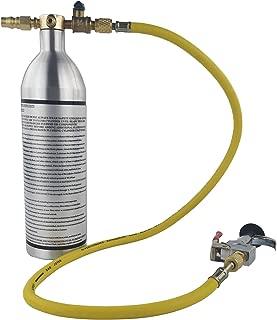 Wisepick AC Flush Kit Air Conditioner System Flush Canister Gun Kit Set for R134 R12 R22 R410 R404
