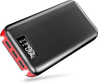 良いおすすめモバイルバッテリー大容量液晶残量表示24000mAhスマートフォン充電器..と2021のレビュー