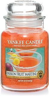 Yankee Candle bougie jarre parfumée | grande taille | Cocktail fruit de la passion | jusqu'à 150 heures de combustion