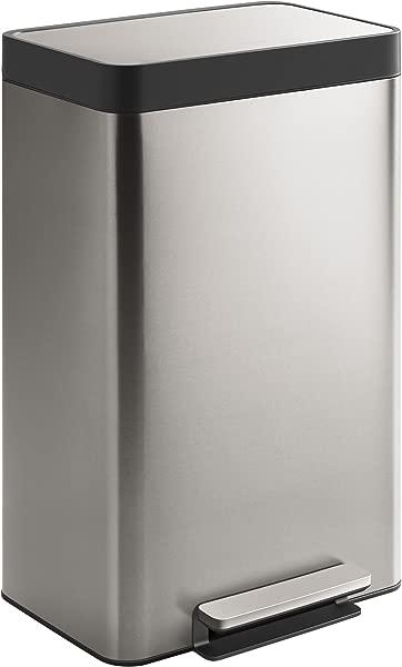 Kohler K 20940 ST 13 Gallon Stainless Trash Can Stainless Steel