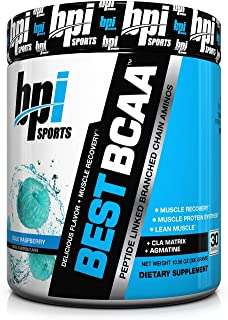 BPI Sports Best BCAA (30 Servings) Muscle Recovery & CLA Matrix PICK A FLAVOR : Blue Rasberry