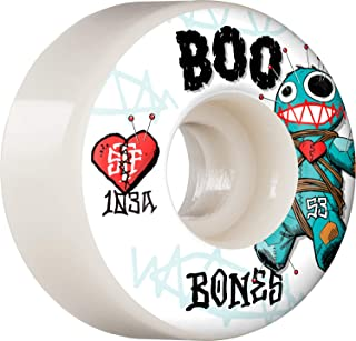 Bones Boo Voodoo V4 Wide Street Tech Formula Wheels, 53mm 103a