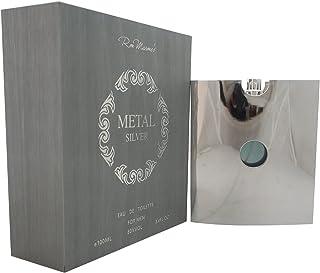 Ron Marones Metal Silver Men's 3.4-ounce Eau de Toilette Spray
