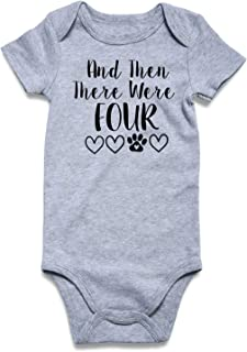 Cutemefy Baby Boys Girls Bodysuit Funny Infant Romper Jumpsuit Short Sleeve Outfit Summer Clothes (Size 0-18 Months)